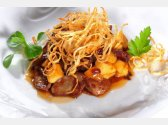 Roasted Chicken Liver with Onion and Apples