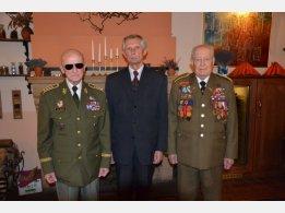 Army General Ing.Tomáš Sedláček, Ambassador Emeritus SR Ladislav Balek, Colonel Minárik