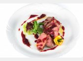 French Duck Breast with Cranberry Sauce