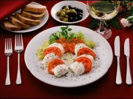 Tomato with Mozzarella Cheesse