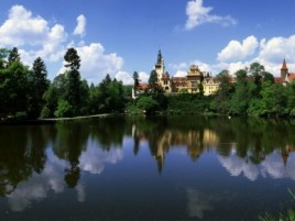 Pruhonice - castle with beautiful park (UNESCO)